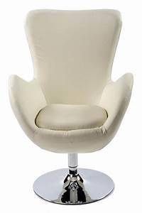 Fauteuil Design Confortable : fauteuil de salon design en similicuir skara ~ Teatrodelosmanantiales.com Idées de Décoration