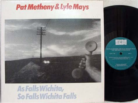 pat metheny as falls wichita records lps vinyl and cds musicstack