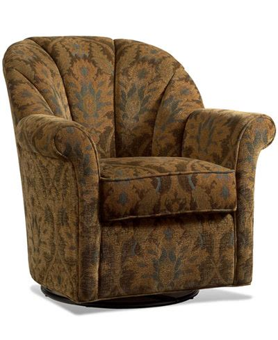 Living Room Furniture At Macy S by Whistle Patina Living Room Chair Swivel Glide Furniture