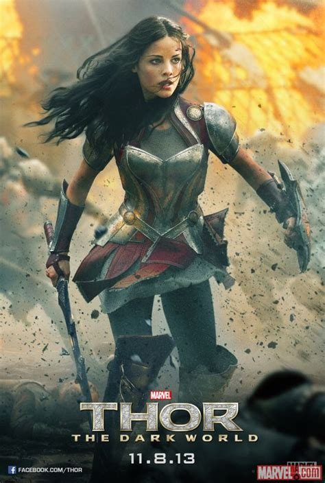 Marvel Have Released A Thor Poster Featuring Sif The Beat