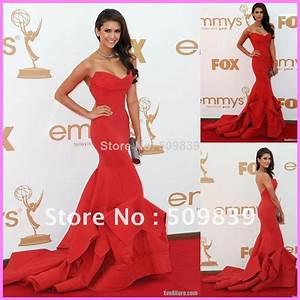 Nina Dobrev Red Dress Designer   www.imgkid.com - The ...