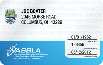 Ohio Boating Laws by How To Get A Replacement Ohio Boating License