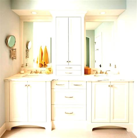 Tower Cabinet Bathroom by Makeup Cabinet With Mirror Narrow Bathroom Tower Cabinets