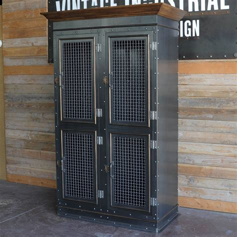 Vintage Industrial Armoire ? Vintage Industrial Furniture