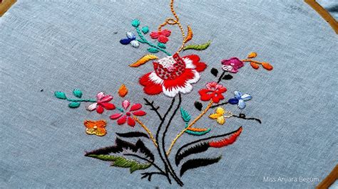 cute japanese hand embroidery designsflower embroidery