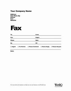 Sample Fax Cover Letter Template Sample Fax Cover Letter