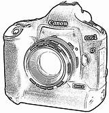 Camera Drawing Tumblr Coloring Canon Clipart Drawings Sheets Line Cliparts Cartoon Digital Cameras Pages Preschool Sheet Clip Getdrawings Library Worksheets sketch template
