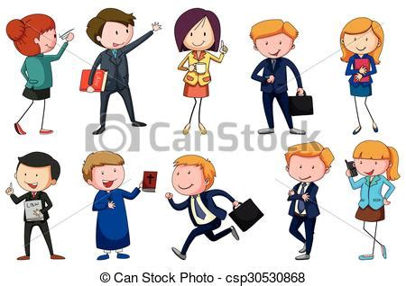 12202 different professions clipart clip vector of different type of occupations
