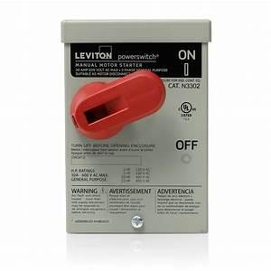 Leviton 30 Amp 600 Volt Industrial Grade 2