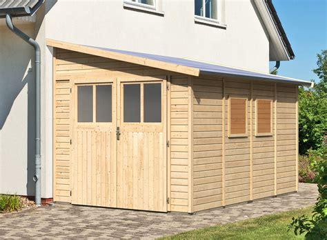 Gartenhaus Anbau Hauswand gartenhaus flachdach selber bauen anleitung