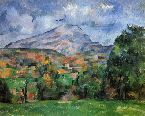 mont sainte victoire paul cezanne wikiart org encyclopedia of visual arts