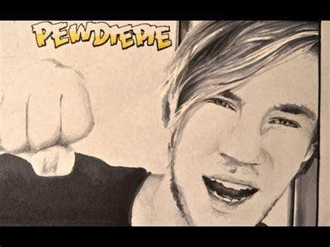 drawing youtubers pewdiepie  misterc youtube