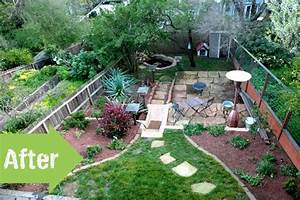 Backyard Garden Ideas Before And After | www.pixshark.com ...