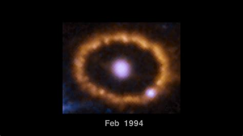 Time-lapse of SN 1987A and its ring - YouTube