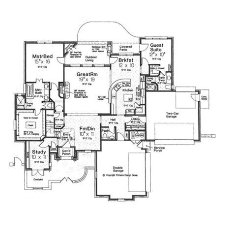 European Style House Plan 4 Beds 3 5 Baths 3514 Sq/Ft