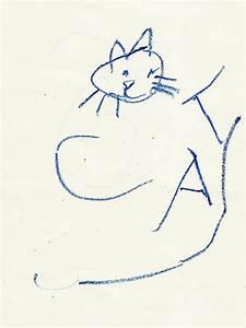 Rugged Parenthood  Drawing A Cat