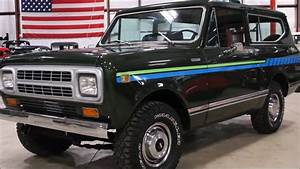 1980 International Scout Green Diesel