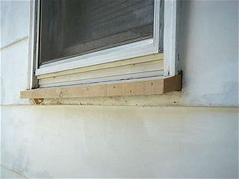 Exterior Wooden Window Sill Replacement by Replace A Wood Window Sill To Fix Rot Damage