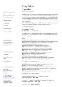 site manager resume templates management cv template managers director project management cv exle