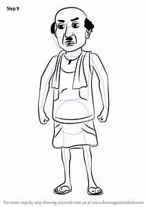Learn How To Draw Chaiwala From Motu Patlu  Motu Patlu