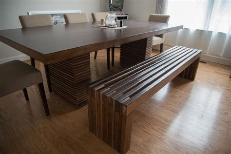 ana white modern slat bench diy projects