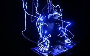 DJ Neon Lights Wallpap...