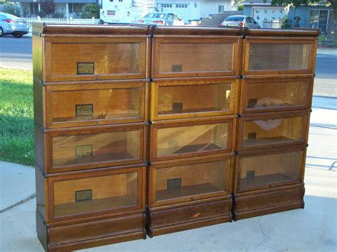 Antique Lawyer / Barrister Bookcases That Have Sold