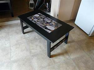 river rock coffee table saanich victoria With river rock coffee table