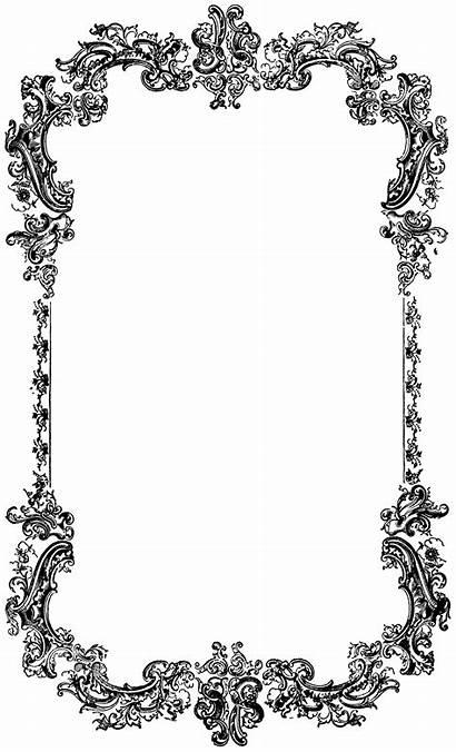 Border Clip Decorative Frame Graphics Ornate