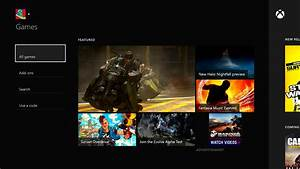 Take A Look At The Revamped Layout Of The Xbox One Store