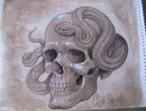 Evil Skull Tattoo Designs