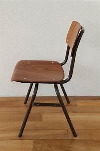 Chaise D école : chaise d 39 cole hollandaise ann es 70 les vieilles choses ~ Teatrodelosmanantiales.com Idées de Décoration