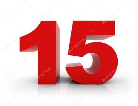 Number 15 — Stock Photo © morenina #66714493