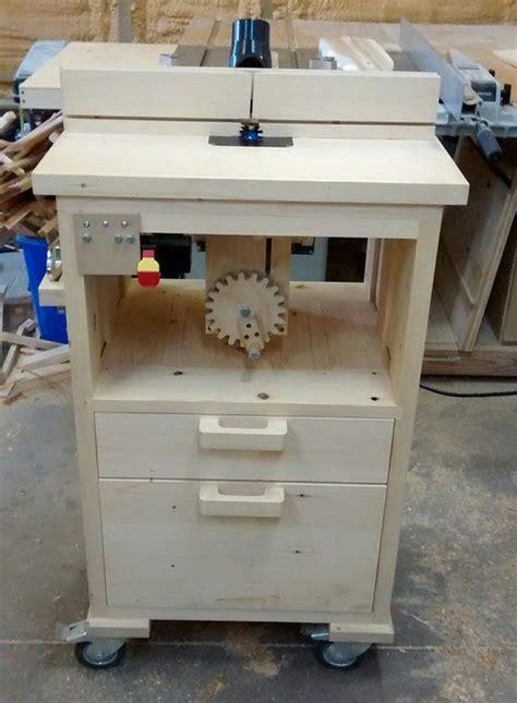 router table  homemade tilting lift  geekwoodworker  lumberjockscom woodworking