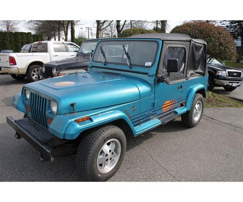 jeep islander 1991 jeep wrangler yj islander vin 2j4fy39s1mj139759
