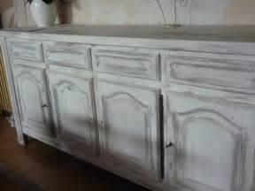 repeindre un meuble vernis en blanc amazing enfilade