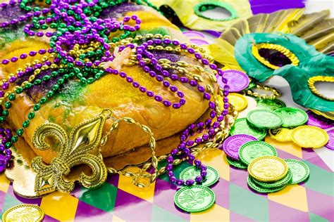 mardi gras king cake showstopper recipes thesoutherncom