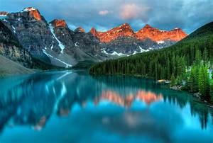 Wallpaper, Landscape, Colorful, Forest, Mountains, Rock