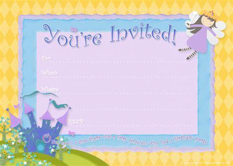 invitations to print free free birthday party invitations bagvania free printable