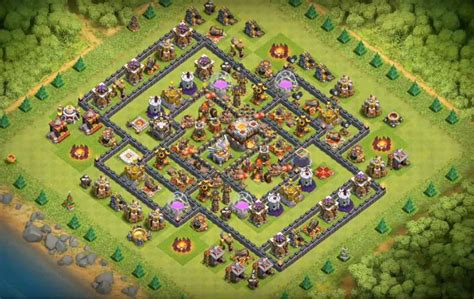 new farming layout collection with th11 new layout base 16 th7 to th11 farming trophy war new