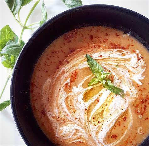 soupe de poivrons rouges et chou fleur r 244 tis gratinez
