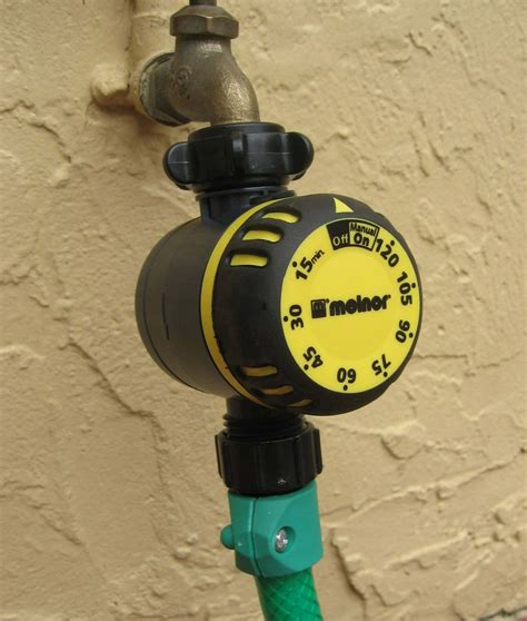hose faucet timer home depot melnor automatic 2 outlet hose timer 557 869 the home