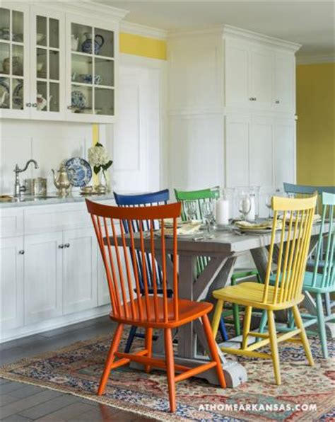 painting kitchen table and chairs different colors 6 hues interiors by color
