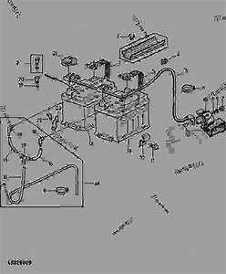 Battery  10  - Tractor John Deere 2355 - Tractor