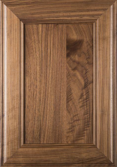 cherokee unfinished flat panel cabinet door  walnut