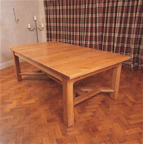 arts and crafts table ls oak arts and crafts table furniture cabinetmaking