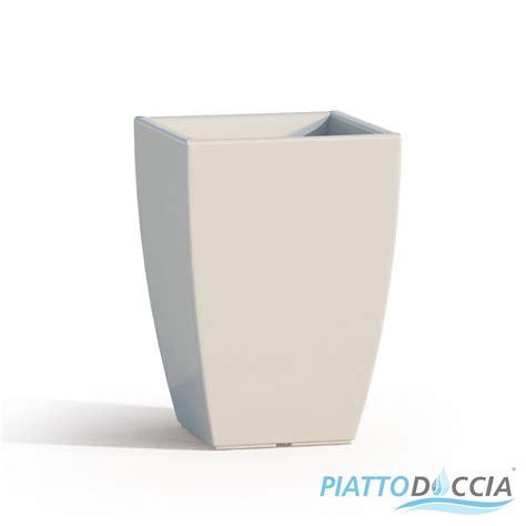 vaso arredo moderno vaso vasi resina moderno quadrato alto arredo interno