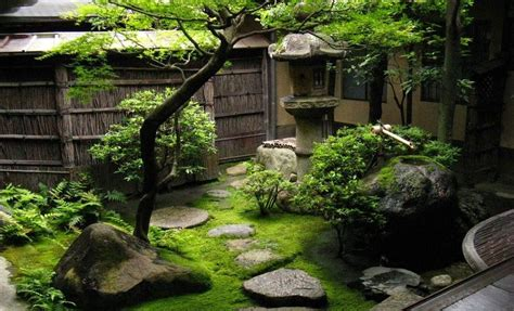 peacefully japanese zen gardens landscape