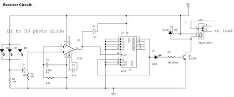 Infrared Remote Control Switch Circuit Applications