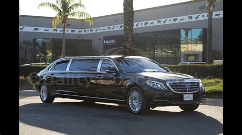 Mercedes Limousine by 49 Merc Limo Www Bilderbeste